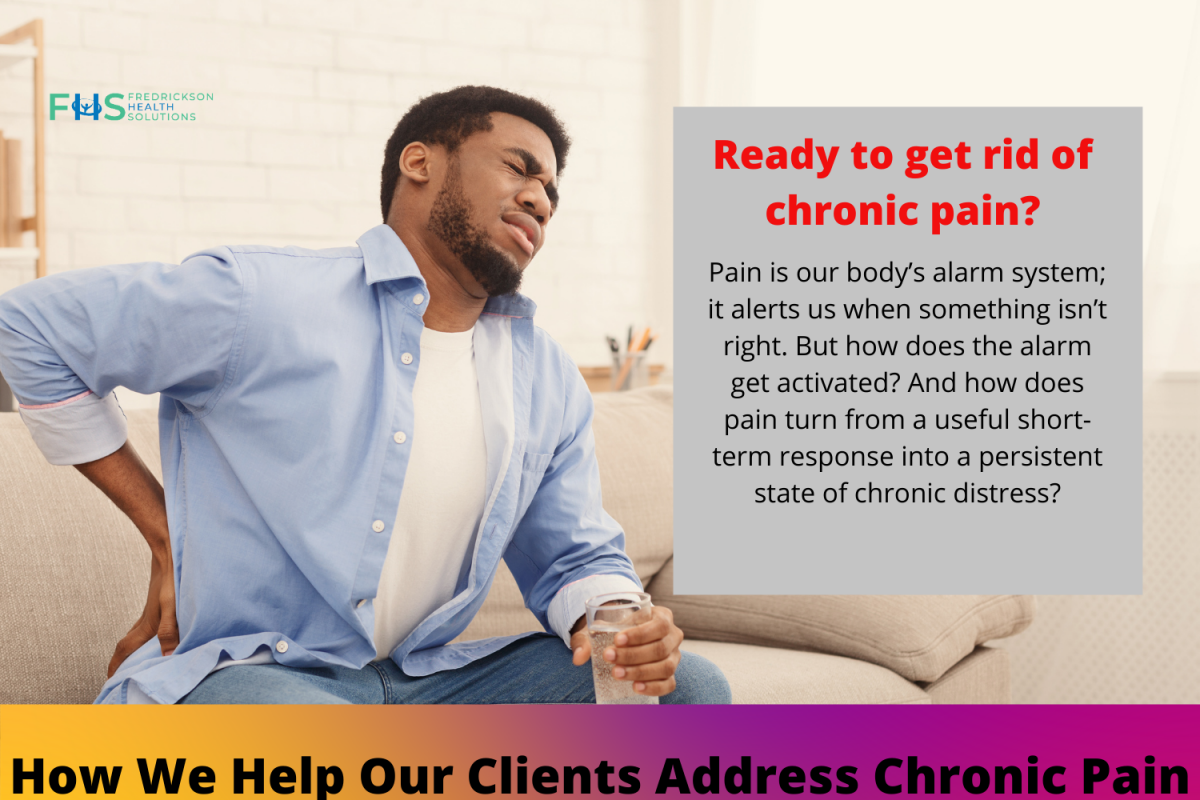 smaller height of get rid of chronic pain